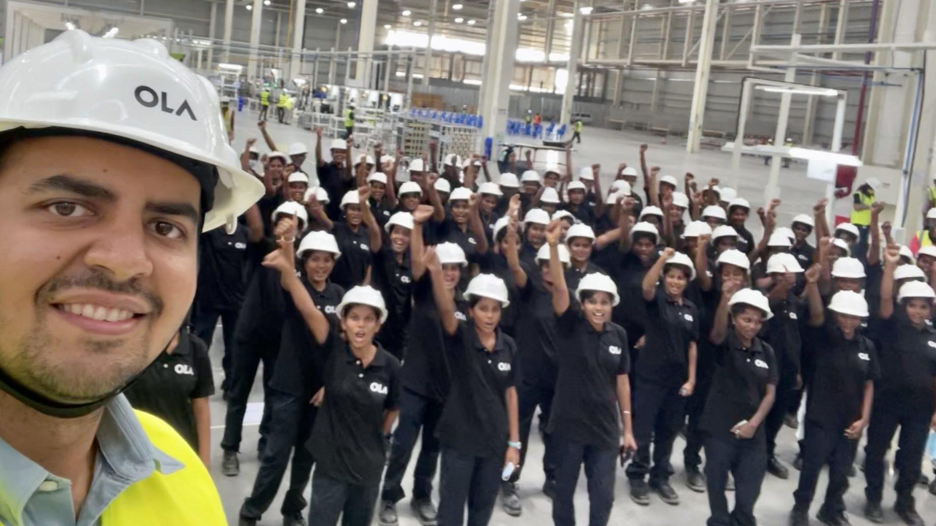 ola women workforce