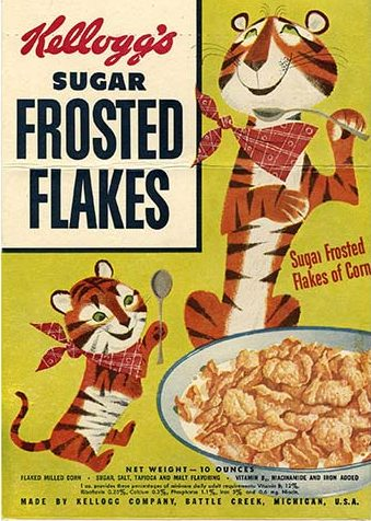 1952 Sugar Frosted Flakes