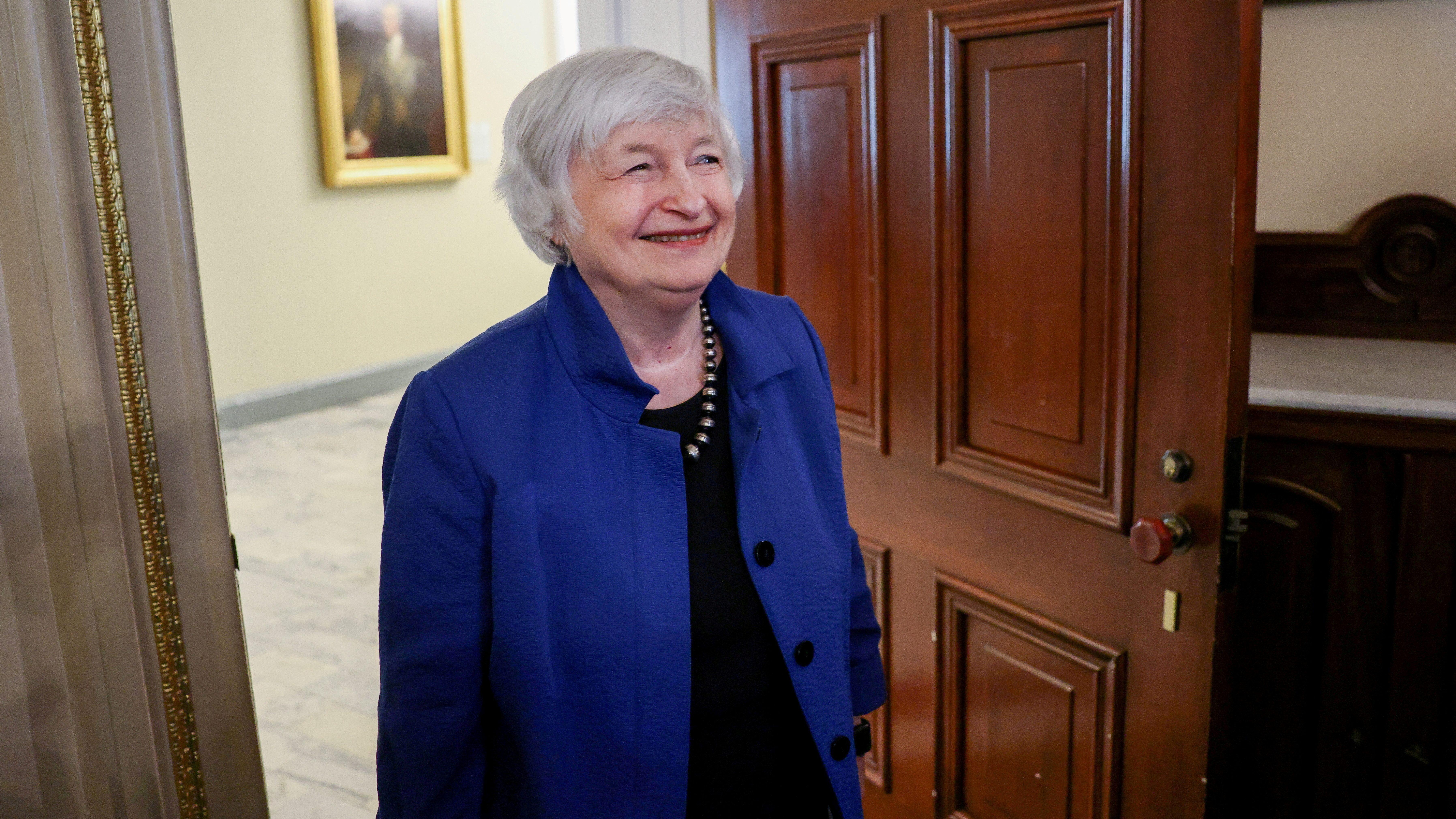 U.S. Secretary of the Treasury Janet Yellen