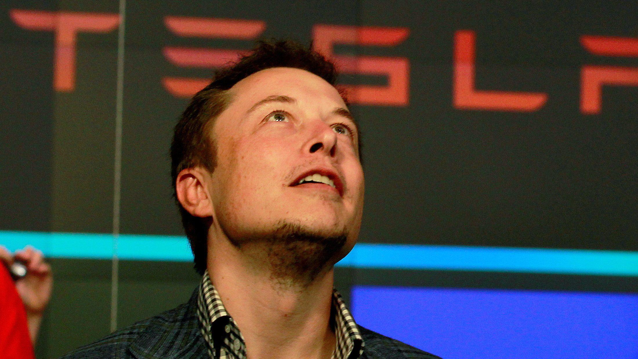 FILE PHOTO: Tesla's CEO, Elon Musk